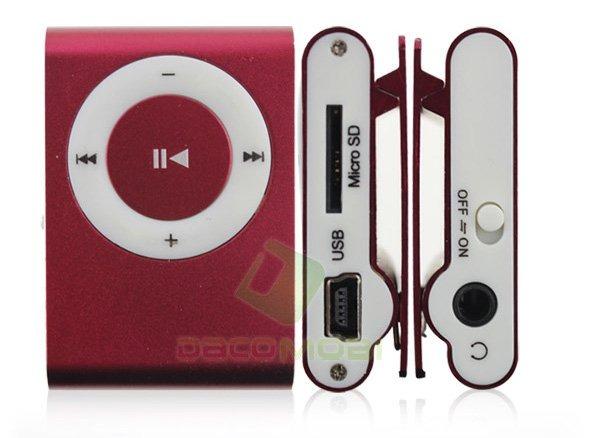 Мини MP3 плеер копия ipod Shuffle