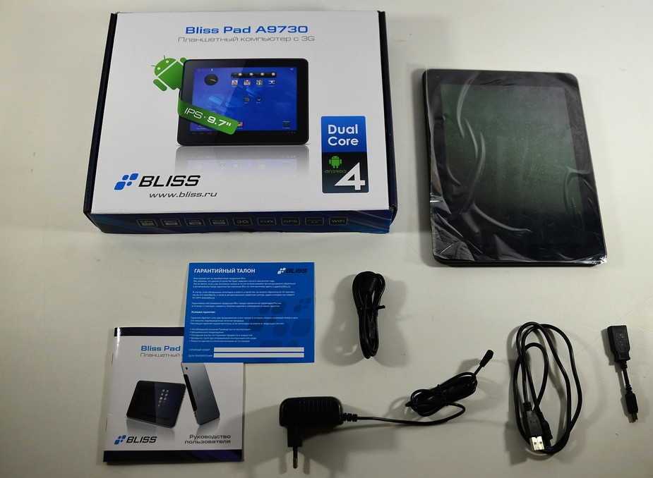 Bliss Pad A9730, 16Gb