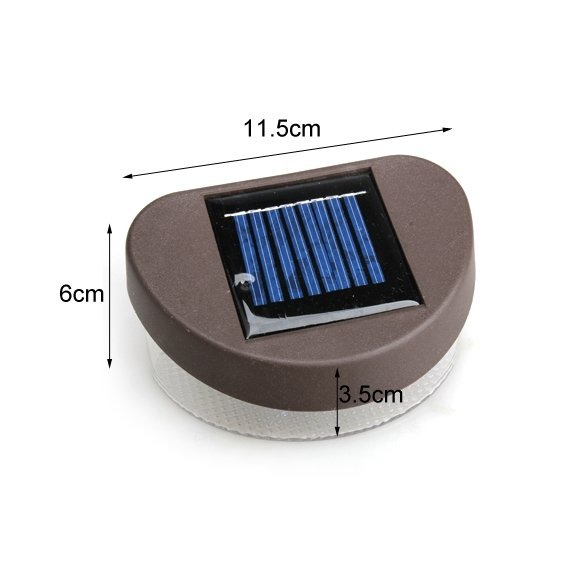 Светодиодный светильник 2 LED, настенный на солнечных батареях