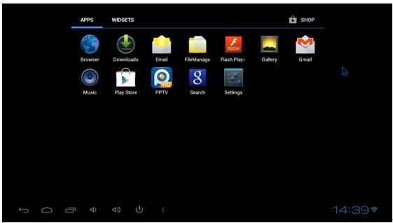 Google мини-компьютер MK802 II Android 4.0 WIFI