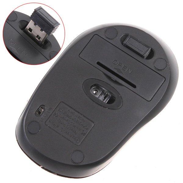 Мышь беспроводная, лазерная, 2.4ГГц