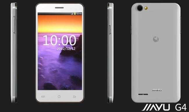 Смартфон JIAYU G4 Базовый, Android 4.1 Quad core