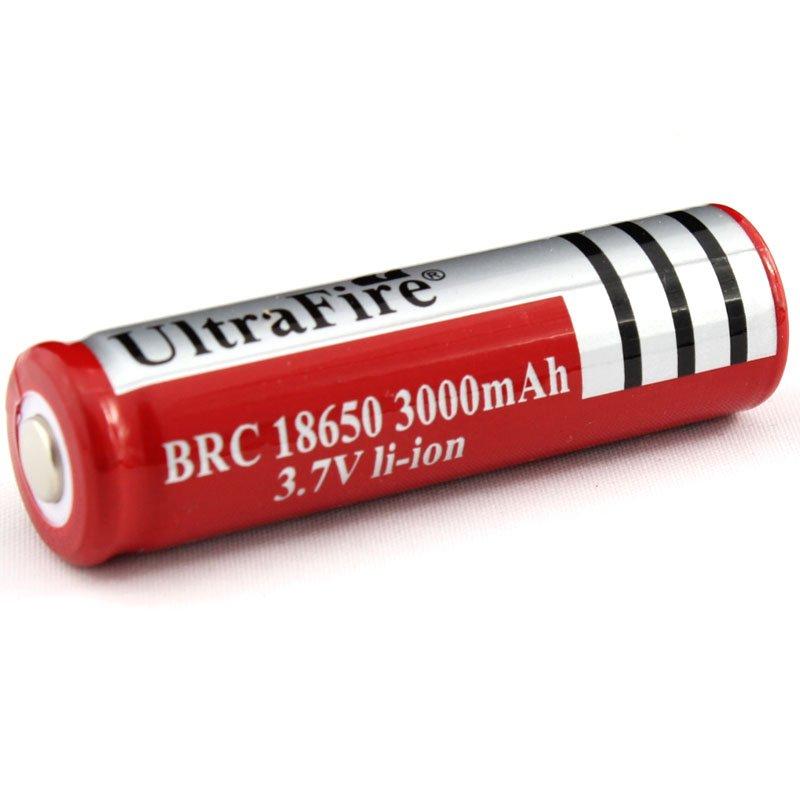 Аккумулятор UltraFire 18650 3000mAh + зарядное устройство
