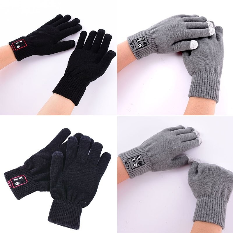 Перчатки со встроенной Bluetooth-гарнитурой