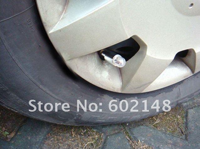 Светодиодные колпачки для колёс, одноцветные (4шт)