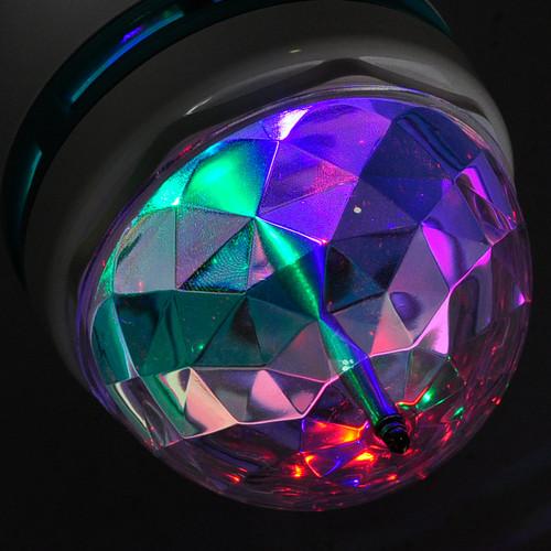 Светодиодная цветомузыкальная лампа DJ 888